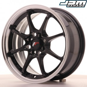 Japan Racing JR5 15x7 ET35 4x100 Gloss Black