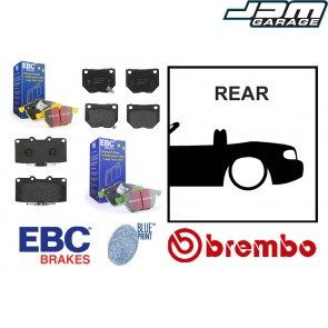 OE Replacement & EBC Greenstuff / Yellowstuff Rear Brake Pads - Mazda MX5 Mk3 NC 05-15