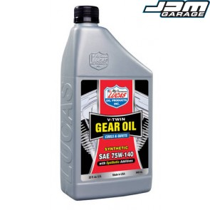 Lucas Oils 75W140 V-TWIN SYNTHETIC SAE GEAR OIL