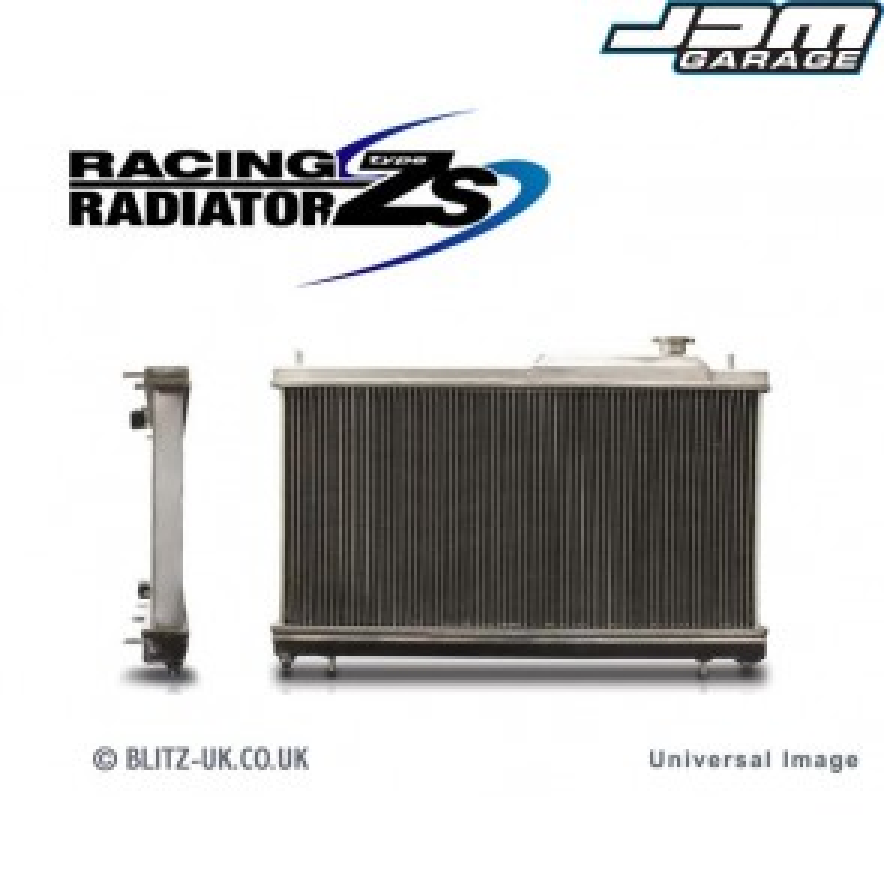Blitz Alloy Racing Radiator Type ZS For Mitsubishi Lancer Evolution 7 VII & 8 VIII