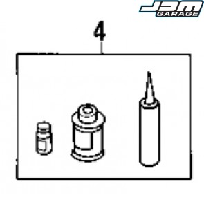 Windscreen Sealant Kit - Part #4 - Nissan Skyline R33 Genuine