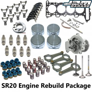 SR20DET Straight Cam Engine Rebuild Package - Nissan Silvia S13 180SX