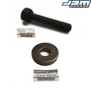Genuine Nissan Crank Shaft Bolt With Washer Fits Nissan Skyline R32 R33 GTST R34 GTT RB20DET RB25DET / NEO 12309-42L00 12308-42L00