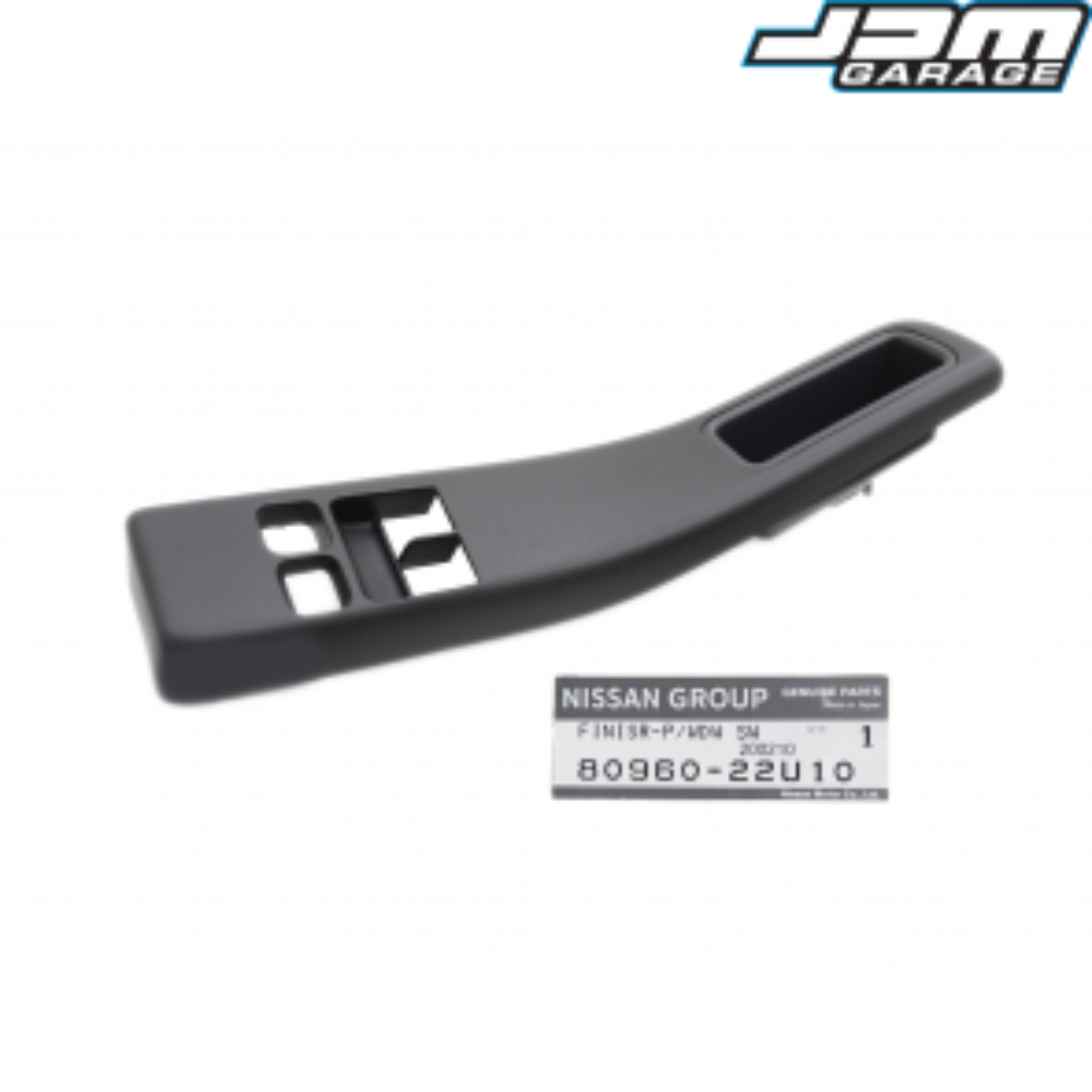 Genuine Nissan Drivers Side Power Window Switch Cover Front Finisher For Skyline R33 GTS GTST GTR 80960-22U10