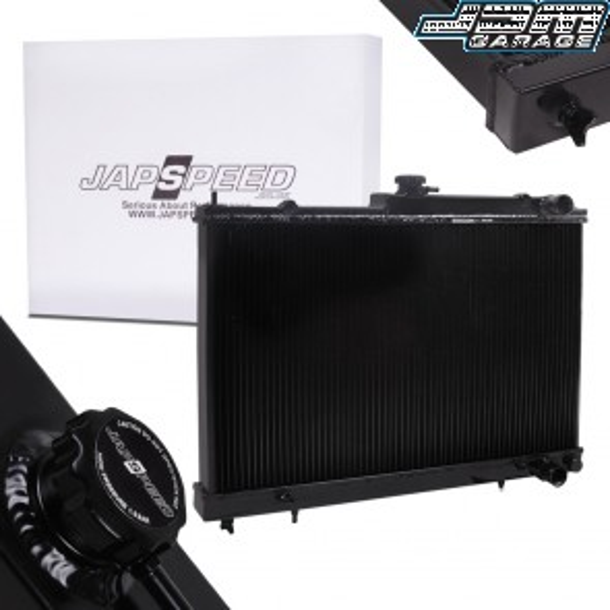 Nissan Skyline R33 & R34 Black Edition Aluminium Radiator