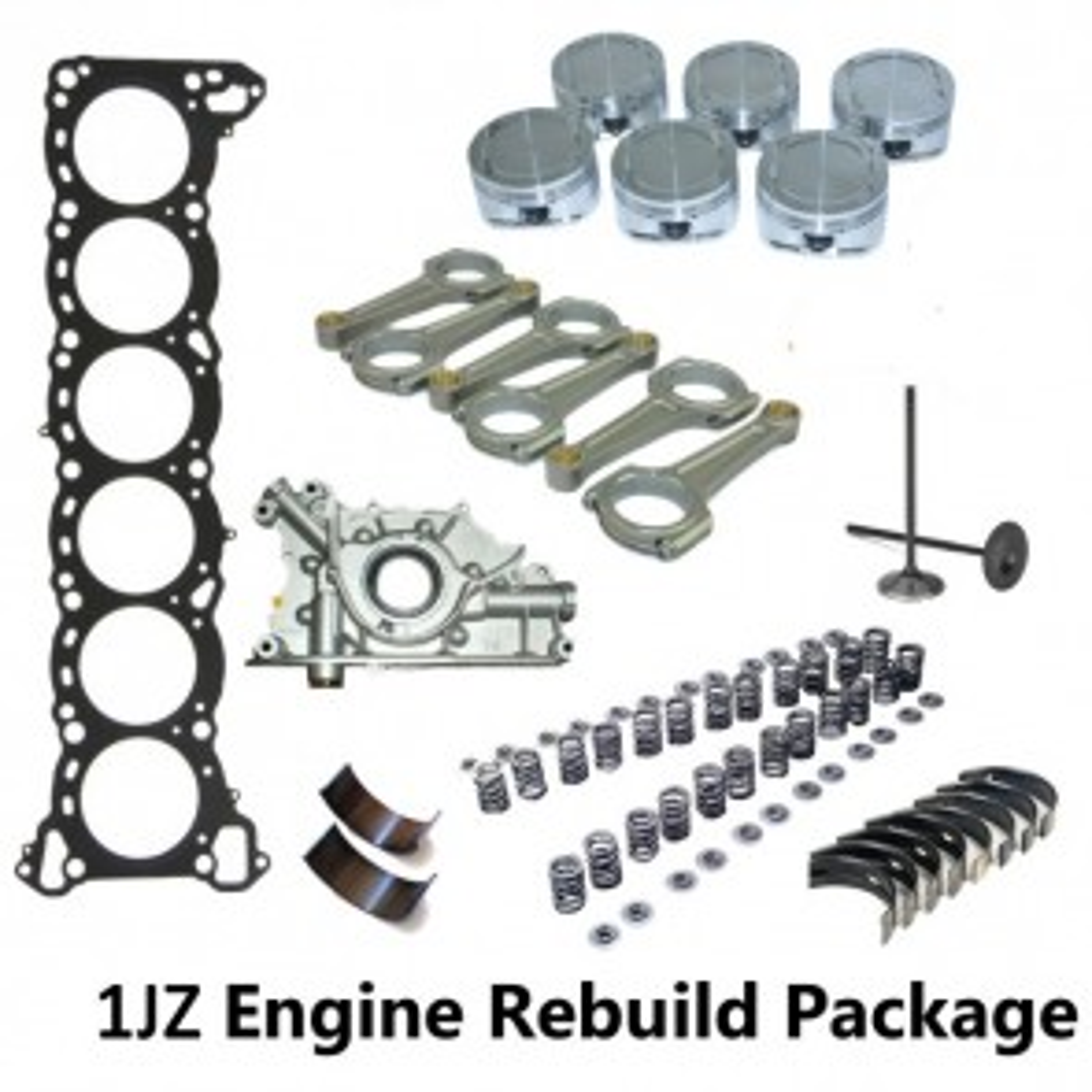 1JZ-GTE Non-VVTI Engine Rebuild Package - Toyota Supra JZA70