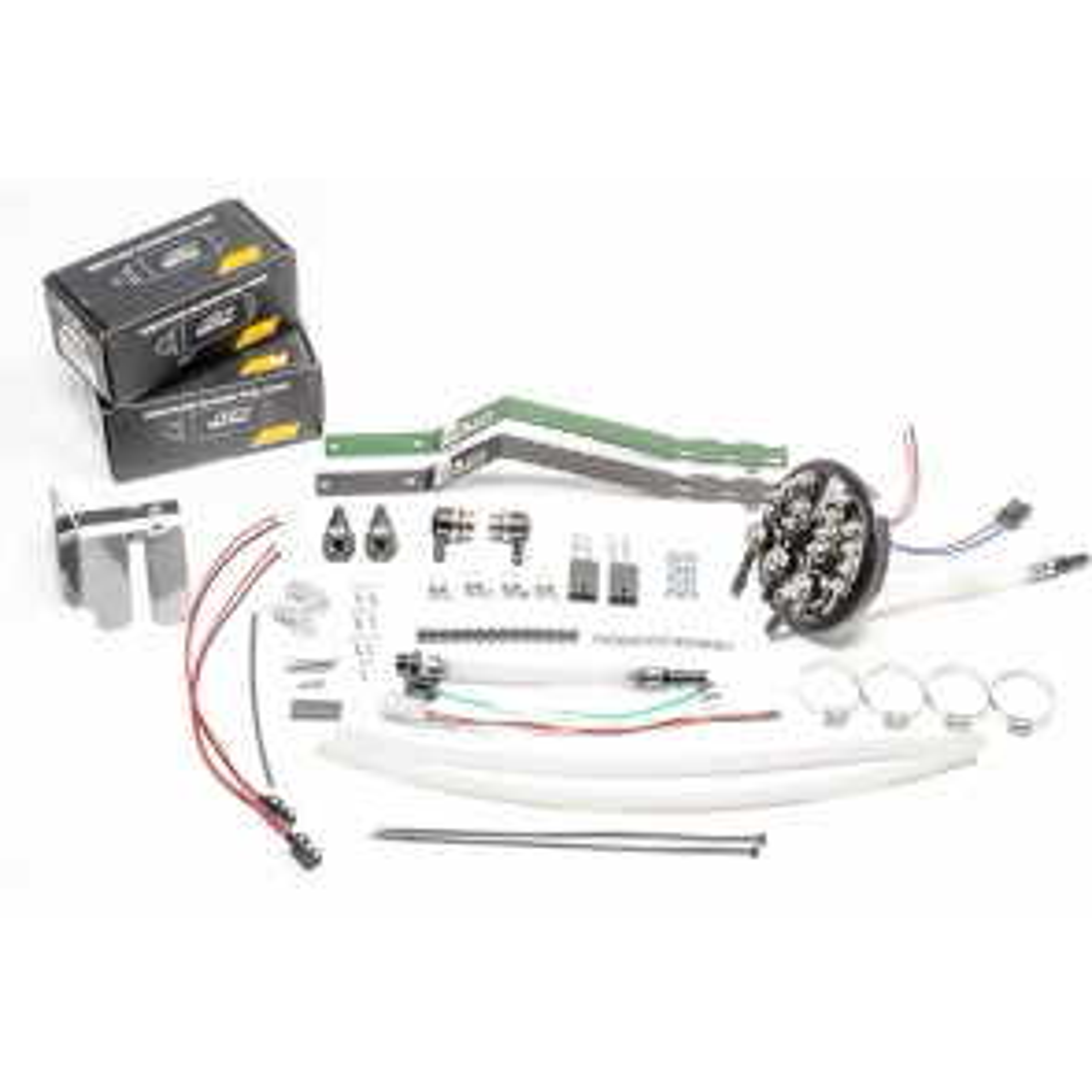 Radium Engineering Fuel Pump Holder for Nissan Skyline R33 R34 Silvia S14 S15 With Single Walbro GSS342 Pump