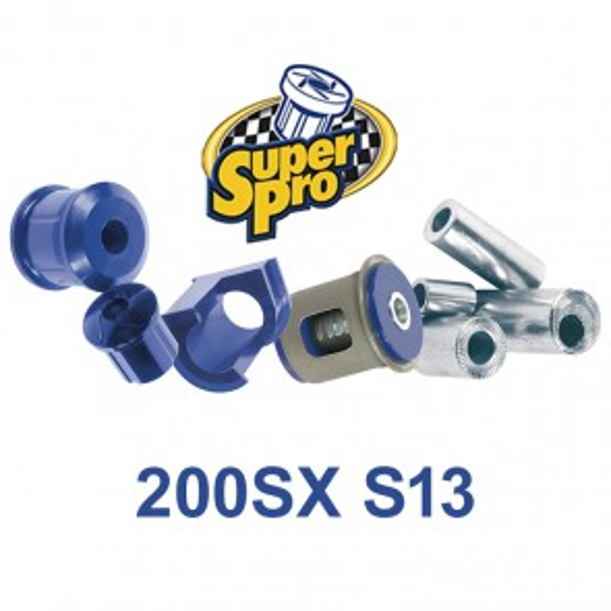 SuperPro Bushes - Nissan 200SX S13 CA18DET