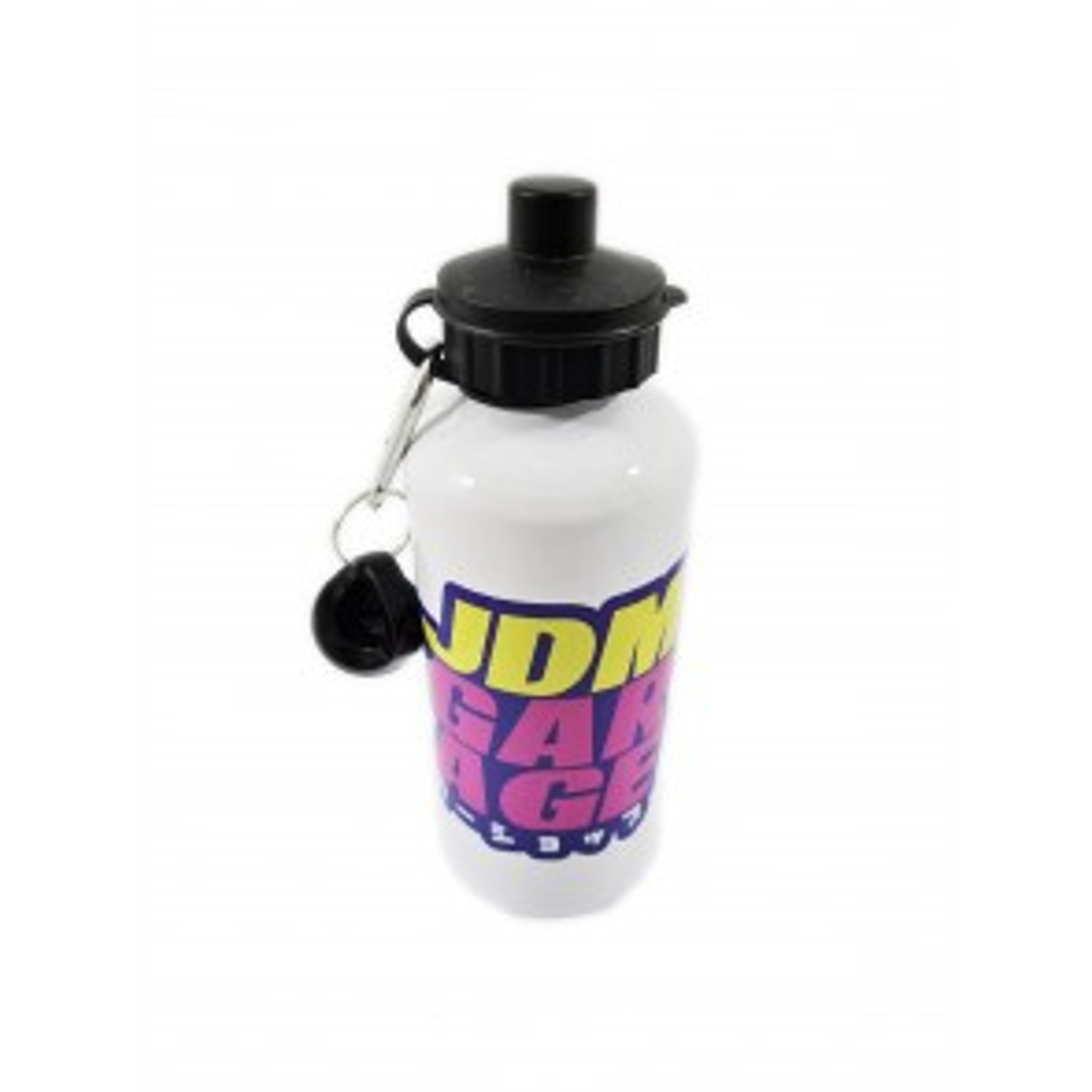 JDMGarageUK Purple, Pink & Yellow Hydration Water Bottle 600ml