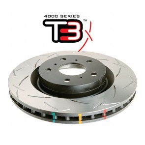 DBA 4000 Series Front Brake Disc - T3 - For Mazda RX8 1.3 Rotary UK 2003-2012