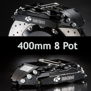 KSport Rear Brake Kit - 400mm Super 8 Pot