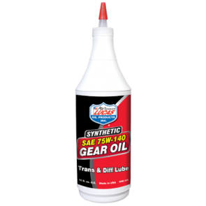 Lucas Oils Synthetic Gear Oil 75w-140