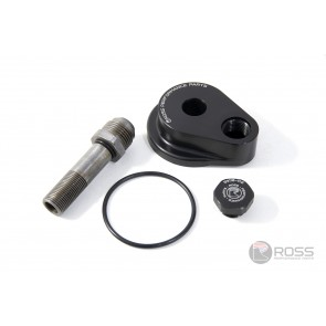 Ross Performance Toyota 1JZ / 2JZ Oil Return Adaptor (Dry Sump Conversion)