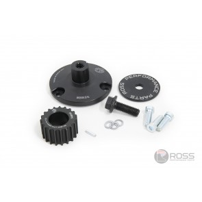 Universal Dry Sump Drive Adaptor with 19T HTD Pulley