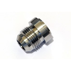 """AN-10 (AN10 JIC) 7/8"""" Weld On Male Hose Fitting Bung Stainless Steel"""