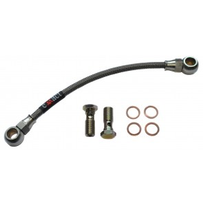 Braided Turbo Oil Feed Line - Skyline R32 / R33 / R34 / S13 / S14 / S15