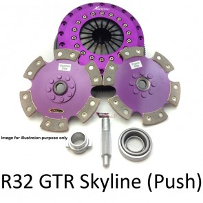 Xtreme Clutch & Flywheel - Organic / Ceramic / Carbon / Single & Twin Plate - Nissan Skyline R32 GTR RB26DETT Early model (Push Type)