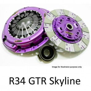 Xtreme Clutch & Flywheel - Organic / Ceramic / Carbon / Single & Twin Plate - Nissan Skyline R34 GTR RB26DETT