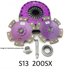 Xtreme Clutch & Flywheel - Organic / Ceramic / Carbon / Single & Twin Plate - Nissan Silvia 200SX S13 CA18DET