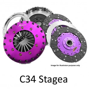 Xtreme Clutch & Flywheel - Organic / Ceramic / Carbon / Single & Twin Plate - Nissan Stagea C34 RB25DET