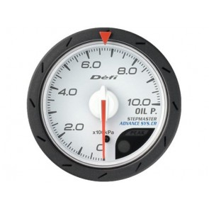 Defi CR Oil Pressure Gauge 52mm/60mm