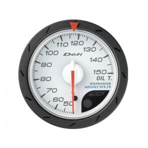 Defi CR Oil Temp Gauge 52mm/60mm