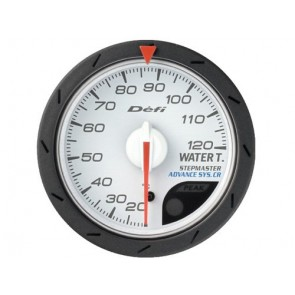 Defi CR Water Temp Gauge 52mm/60mm