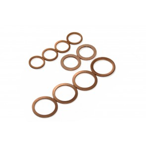 Copper Turbo Water & Oil Line Washers Fits Nissan Skyline R32 R33 GTST R34 GTT RB25DET