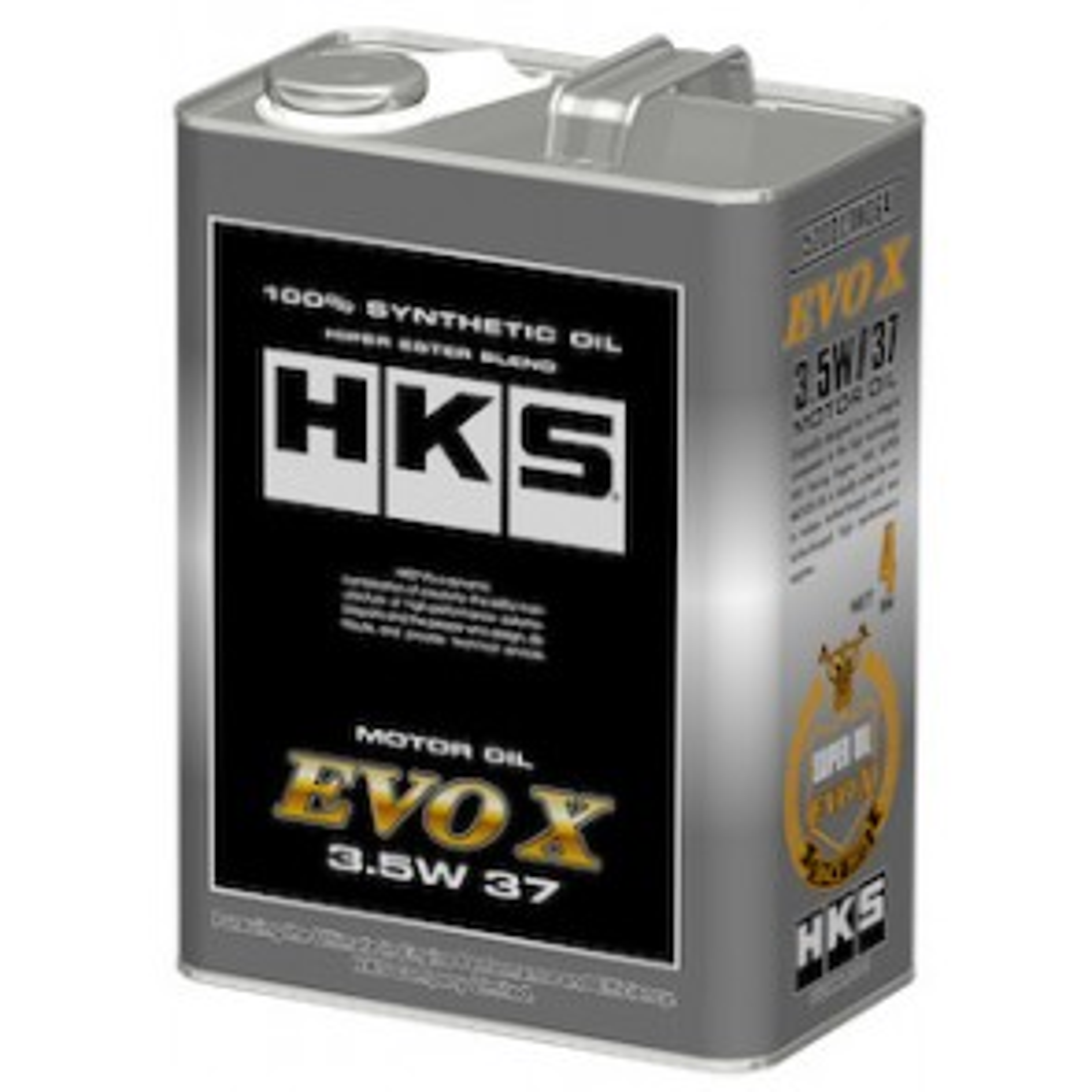 HKS Super Oil Mitsubishi Lancer Evolution EVO X 10 4B11 3.5W-37 1Ltr / 4Ltr / 20Ltr