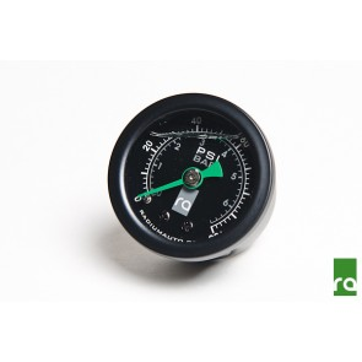 Radium Engineering Fuel Pressure Gauge With 8AN ORB Adapter
