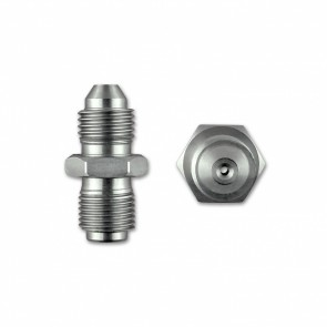 "Oil Restricter 2mm Male to Male Adapter AN04 -04 7/16"" X 24Tpi For Use With Garrett Ball Bearing Turbos"