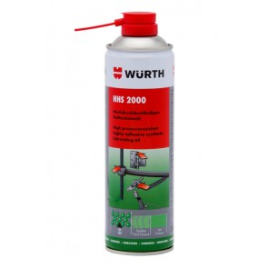 Würth HHS 2000 Spray - Partially Synthetic Oil