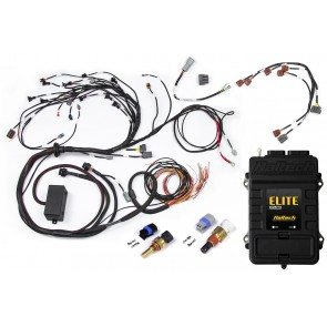 Haltech Elite 2500+ ECU Terminated Engine Harness for Nissan RB20/25/26 Twin Cam With Series 1 (early) ignition type sub harness