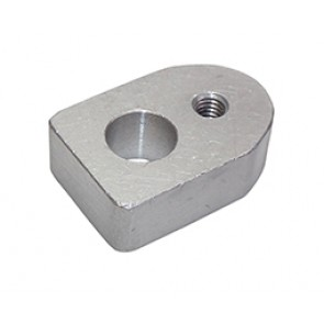 Link Mounting Boss Aluminium - Weld In