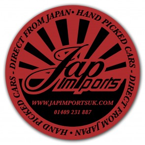 Jap Imports Sticker - Round 75mm