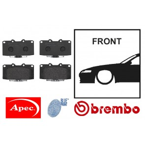 OE Replacement Front Brake Pads - Toyota Chaser JZX100 JZX110