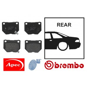 OE Replacement Rear Brake Pads - Toyota Chaser JZX100 JZX110 Aristo JZS161 Lexus GS300