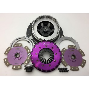 Xtreme Clutch Kit - 230mm Twin Plate Ceramic Rigid With Adapter Plate & Bolts - 2JZ/E46