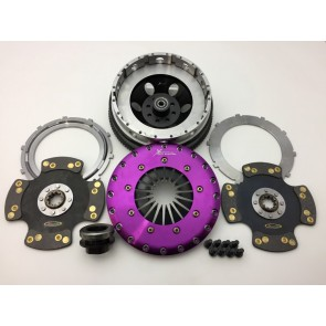 Xtreme Clutch Conversion Kit - 230mm Twin Plate Rigid Solid Carbon - 2JZ/E46