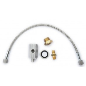 JTI Oil Sensor Fitting Kit with 300mm braided hose and t-piece