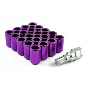Anodised Tuner Steel Wheel Nuts