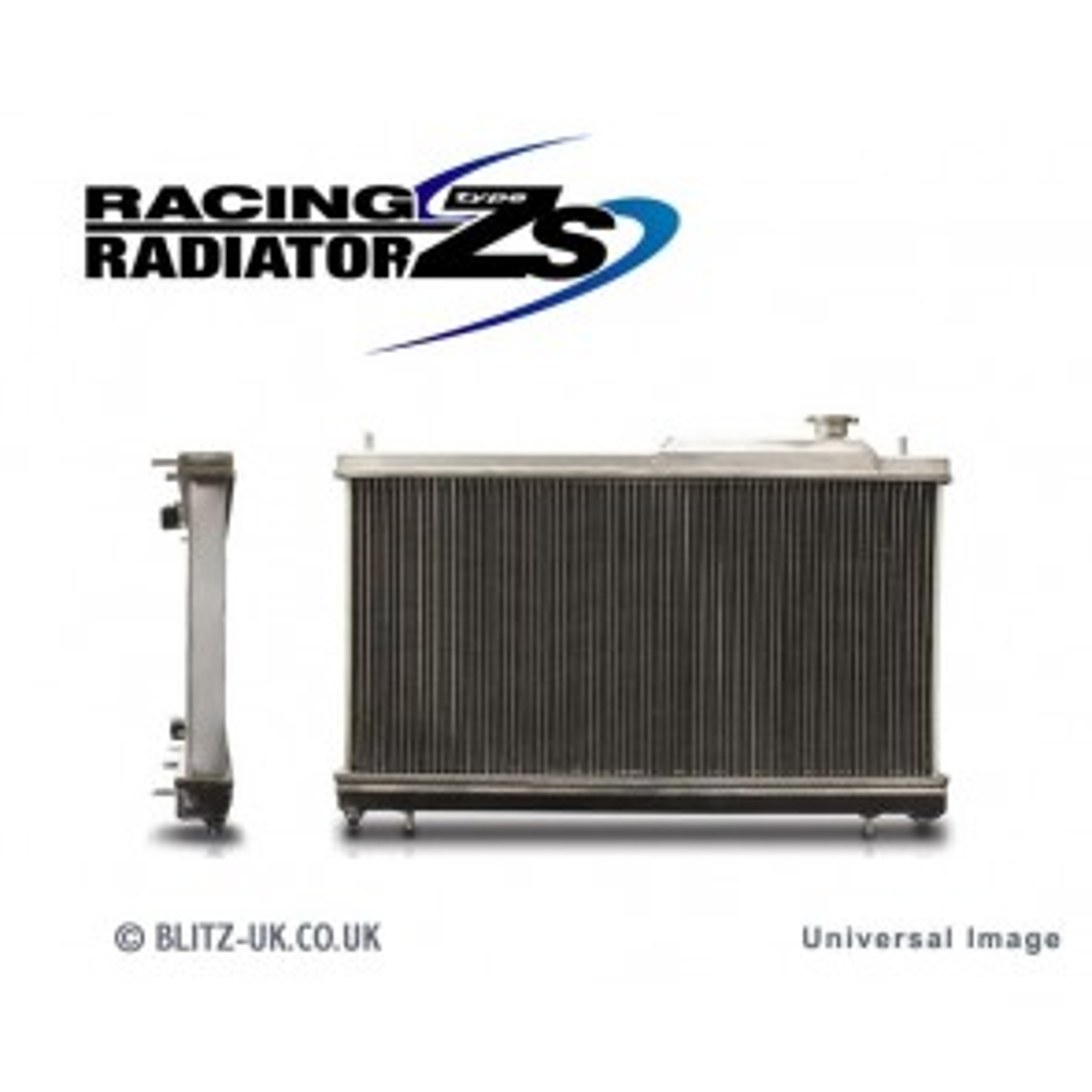 Blitz Alloy Racing Radiator Type ZS Fits Mitsubishi Lancer Evolution X 10
