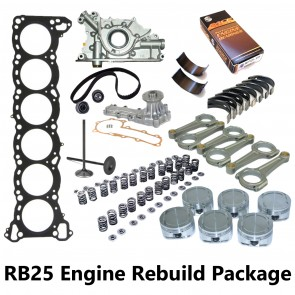 RB25DET Engine Rebuild Package - R33 GTST / R34 GTT Skyline