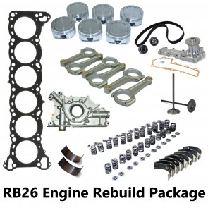 RB26DETT Engine Rebuild Package - R32 R33 R34 Skyline GTR
