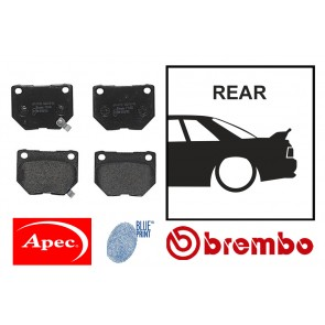 OE Replacement Rear Brake Pads - Nissan Skyline R32 R33 GTST R34 GTT GTR