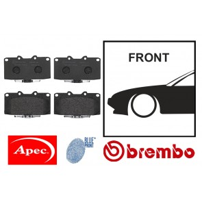 OE Replacement Front Brake Pads - Nissan Silvia S13 S14 S15 180SX 200SX