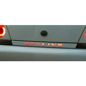 R33 'SKYLINE' Rear LED Panel
