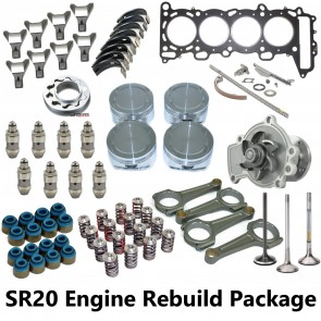 SR20DET Bent Cam Engine Rebuild Package - S14 S15
