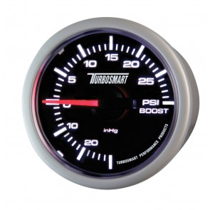 Turbosmart Boost Gauge 0-30psi 52mm - 2 1/16""