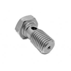 "Oil Restrictor 2mm Banjo Bolt 7/16"" X 24Tpi For Use With Garrett Ball Bearing Turbos"